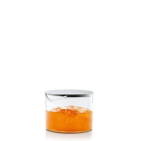 BLOMUS  Стъклено бурканче със стоманен капак BASIC - 100 мл
